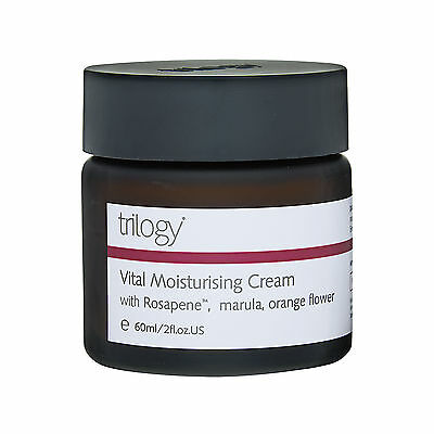 Trilogy Vital Moisturising Cream All Skin Type 2oz,60ml Skincare Moisturizer