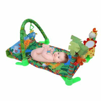 Baby Tropical Rain Forest  Play Mat Fun Activity Soft Colorful Toy Crawling Mat