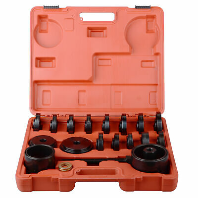 23 pc Front Wheel Drive Bearing Removal Installation Puller Tool Kit