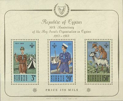 Chipre Hoja Bloque. MNH **1. 1963. Hoja bloque. MAGNIFICA. Yvert 2012: 225 Eur