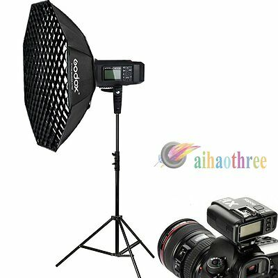 Godox AD600B 600W TTL HSS 1/8000s High Speed Bowens Flash Softbox Trigger Kit