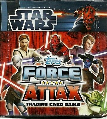 Star Wars Force Attax  Serie 3 Booster Display 50 Booster Neu & OVP