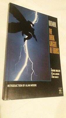 Batman: The Dark Knight Returns 1986 DC Graphic Novel  Frank Miller