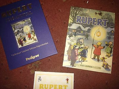 Rupert Bear 1949 Certified Limited Edition Annual Facsimile - Mint Condition