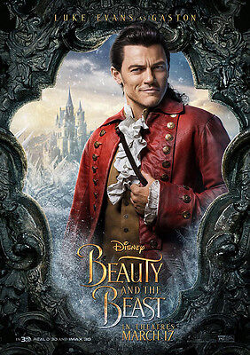 Movie Poster Print: Beauty and the Beast - Gaston DISCOUNTED OFFERS A3 / A4