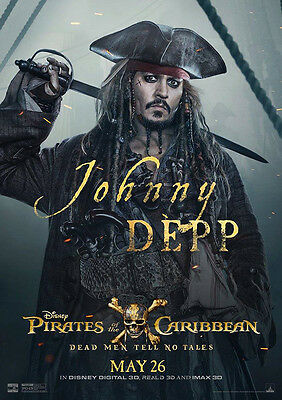 Movie Poster Print: Pirates of the Caribbean 2017 DISCOUNTED OFFERS A3 / A4