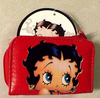 Betty Boop Wallet Lic And Change Purse
