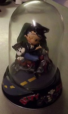 Betty Boop Figurine Franklin Mint Hand Painted Sculpture Born To Be Boop