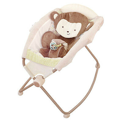 Fisher Price My Snugamonkey Newborn Baby Rock'n Play Sleeper Playtime Seat