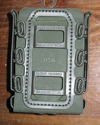 G-CODE RTI Soft Shell Scorpion rifle mag carrier green magazine holder pouch OD