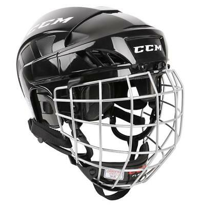 CCM FL40 Ice Hockey Helmet Combo With Cage - Various Colours & Sizes