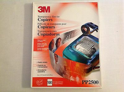 3M Transparency Film For Copiers, PP2950(70sheets) & PP2500(42sheets)