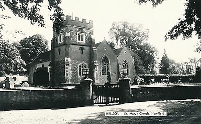 POSTCARD   MIDDLESEX   HAREFIELD   St  Mary's  Church
