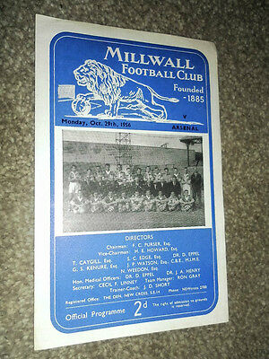 1956 Lcc Semi Final Millwall V Arsenal