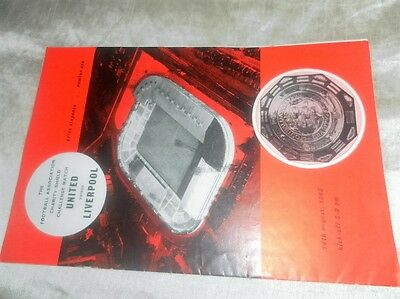 1965 Charity Shield Manchester United V Liverpool Signed