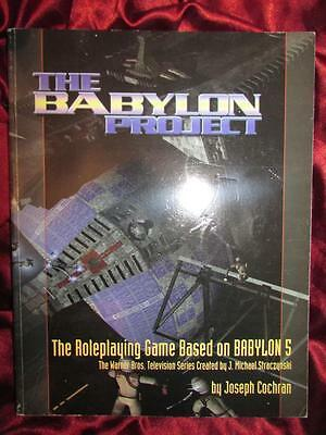 BABYLON 5 ROLEPLAYING GAME - THE BABYLON PROJECT rpg oop