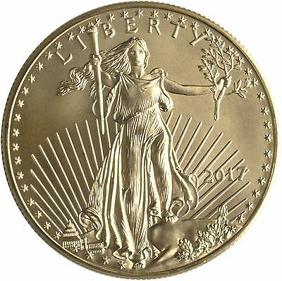 2017 $50 Gold American Eagle 1 oz. Brilliant Uncirculated