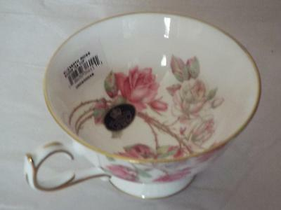 Aynsley Fine Bone China ELIZABETH ROSE ATHENS TEA CUP NEW 1st Quality.