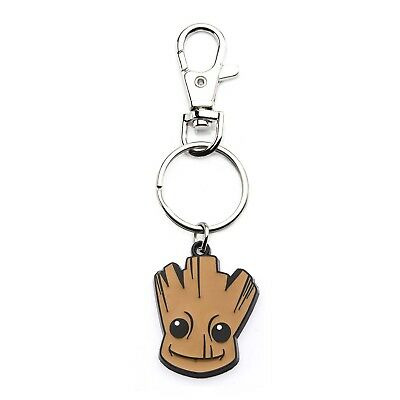 Marvel Guardians of the Galaxy Baby Groot Head Bag Tag Keychain