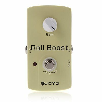 JOYO JF-38 Electric Guitar Effect Pedal Roll Boost Clean Volume True Bypass