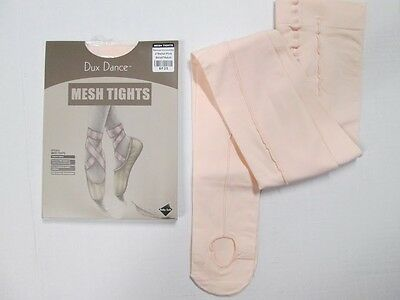 NEW PINK Convertible Mesh Seamed Dance Tights Sizes SA MA LA XL Adult Womens