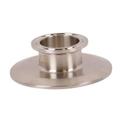 End Cap Reducer   Tri Clamp/Clover 3 inch x 1.5 (1 1/2) - Sanitary SS304