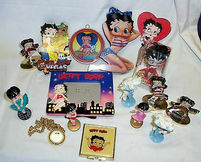 Lot Of 16 Assorted Betty Boop Items