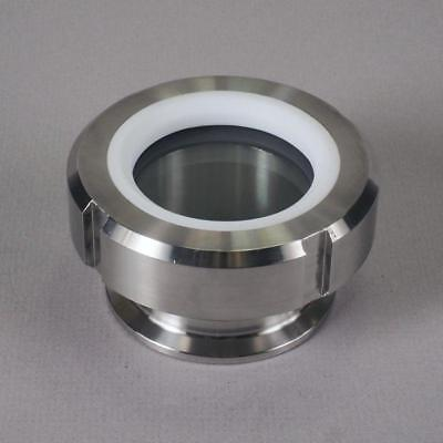 "Sight Glass Process View | Tri Clamp 1.5"" /FKM/PTFE - Sanitary Stainless St"