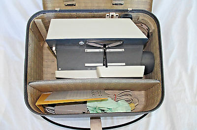 Vintage ROLLEI UNIVERSAL PROJECTOR P11 Case Working Frank and Heideke 6x6 35mm