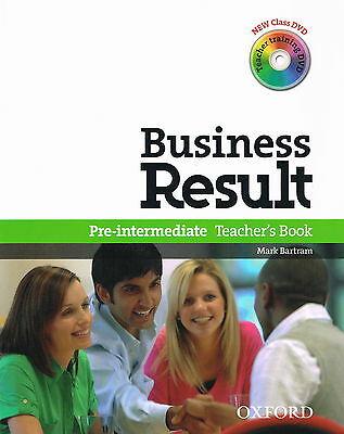 Oxford BUSINESS RESULT DVD EDITION Pre-Intermediate Teacher's Book w DVDs @NEW@