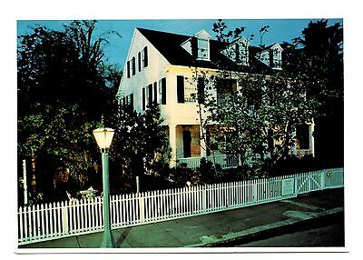 Audubon House Postcard Florida Key West Home Elephant Folio on Exhibit Unposted