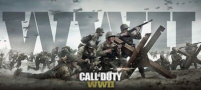 "Call Of Duty: WWII Game Poster COD WW2 Silk Print Size 13x20"" 24x36"" 32x48"" #4"