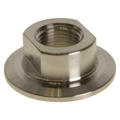 Tri Clamp/Clover to FNPT Adapter | 1/2 inch x 1.5 (1 1/2) Short Sanitary SS304