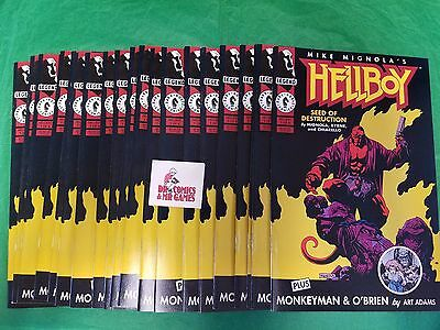 Hellboy Seed of Destruction #1 SOLID 9.2 copy if not better