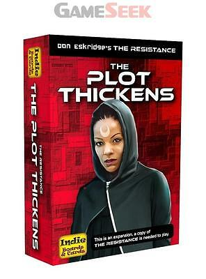 The Resistance: The Plot Thickens Expansion - Toys Brand New Free Delivery