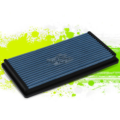 FOR 95-05 CHEVY BLAZER 4.3 BLUE REUSABLE/&WASHABLE HIGH FLOW DROP IN AIR FILTER