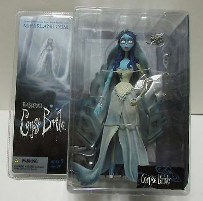 Mcfarlane Tim Burton's Corpse Bride 6 & 1/2 Inch Figure ***mint In Package***