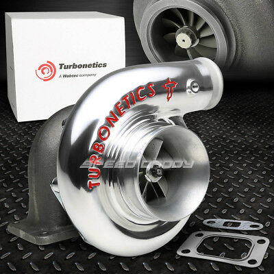 "Turbonetics T-Series T4 Hp76 F1-68 .76 Comp .68 Exh Ar.96 3""v-Band Turbo Charger"