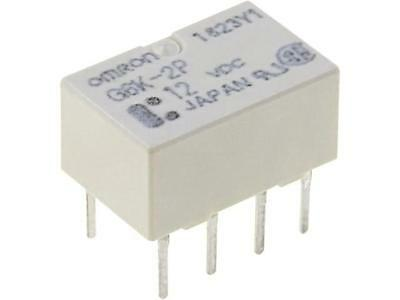 G6K-2P-12DC Relay electromagnetic DPDT Ucoil12VDC 0.3A/125VAC 1A/30VDC OMRON
