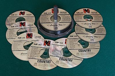 Nikkodo Bmb Karaoke Country Disc Set Numbers A-1 Thru A-16 In Great Condition