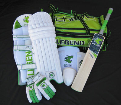 NEW RELEASE CHAMP LEGEND - Complete Men's Senior Level Cricket Kit/Set