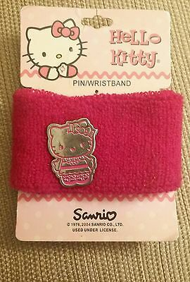 Sanrio Hello Kitty Sports  Sweatband Wristband w/ removable pin