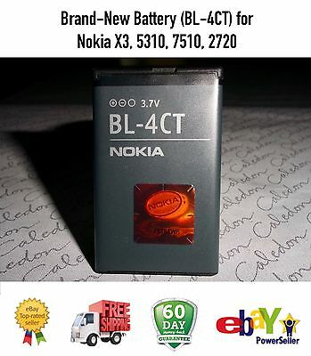 Brand-New Battery (BL-4CT) for Nokia X3, 5310, 7510, 2720