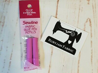 PINK Sewline Refill Sticks for Fabric Glue Pen - FREE POST from AUST