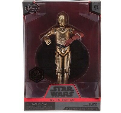 C-3PO Elite Series Die Cast Action Figure - 6 1/2'' -Star Wars The Force Awakens