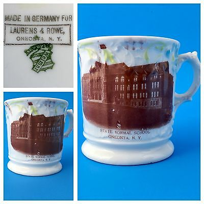 *Rare* Vintage State Normal School Mug Oneonta NY Made in Germany Nice Cond.