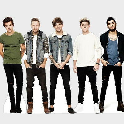 Official One Direction Table Standee Desktop Standup Cutout