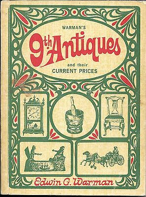 ag Warman's 9th Antiques and Their Current Prices