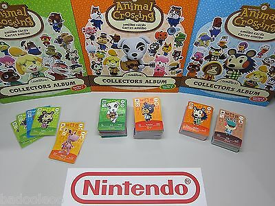 Nintendo Animal Crossing Amiibo Cards
