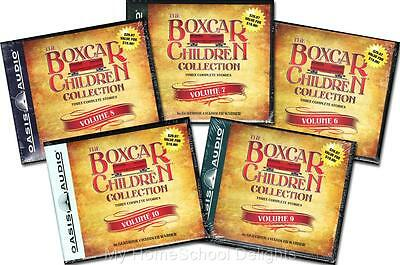 NEW 15 Audiobooks 5 BOXCAR CHILDREN COLLECTION Sets Volumes 6 - 10 30 Audio CDs